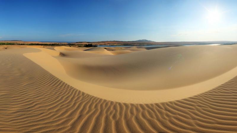 Đồi cát bay ở Mũi Né