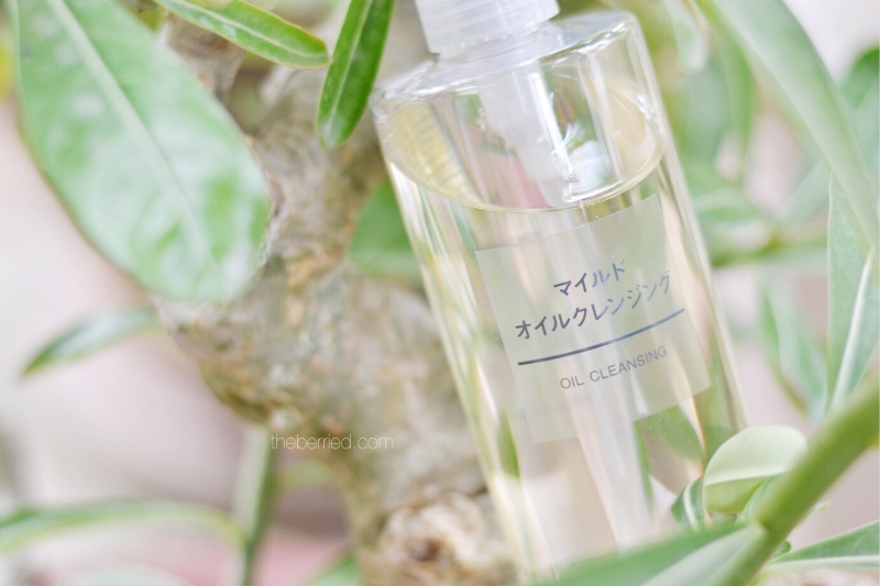 Muji – Cleansing Oil