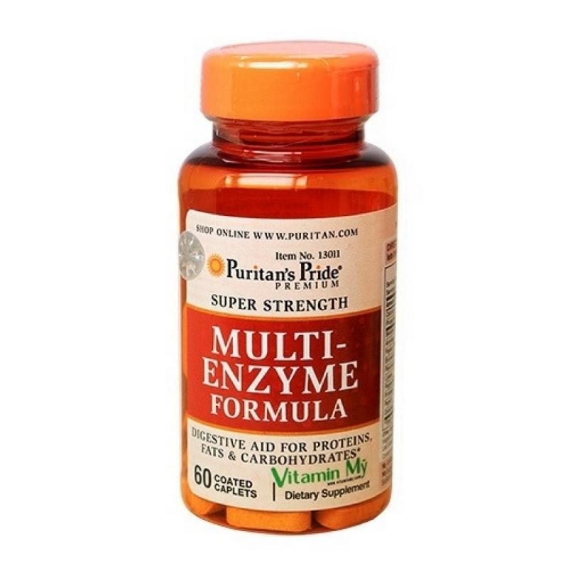 Multi Enzyme Formula - Giúp tiêu hóa thức ăn dễ dàng hơn