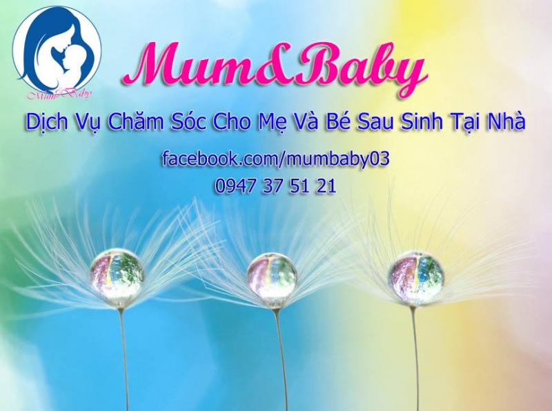 Mum and Baby - Dịch vụ chăm sóc mẹ và bé sau sinh Nha Trang