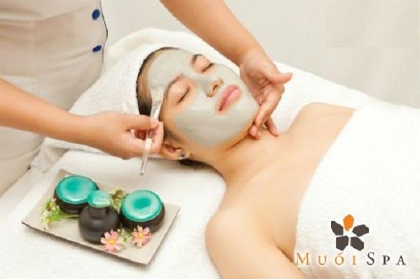 Chăm sóc da mặt tại Muối Spa