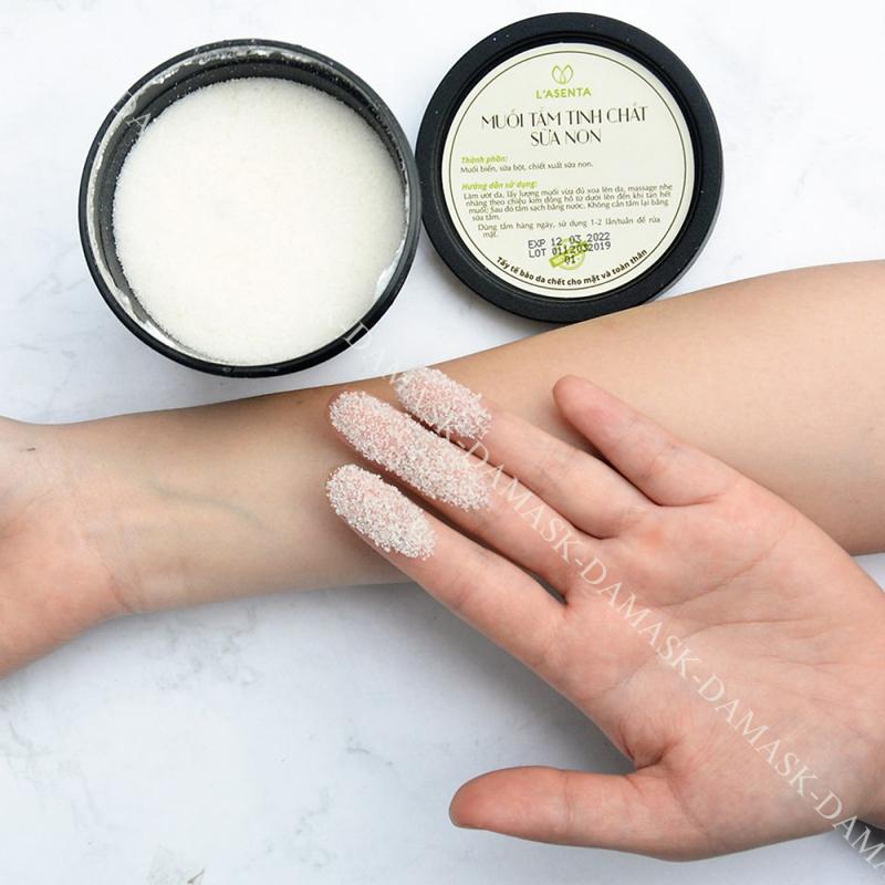 Muối Tắm Tinh Chất Sữa Non L'asenta Colostrum Salt Scrub