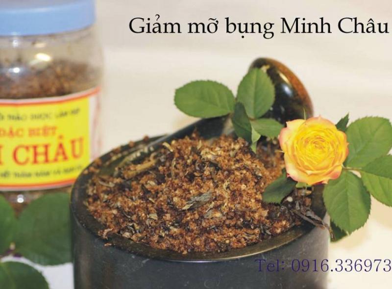 Muối thảo dược của Đông dược Minh Châu