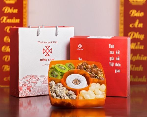 Thương hiệu mứt Hồng Lam được nhiều khách hàng lựa chọn