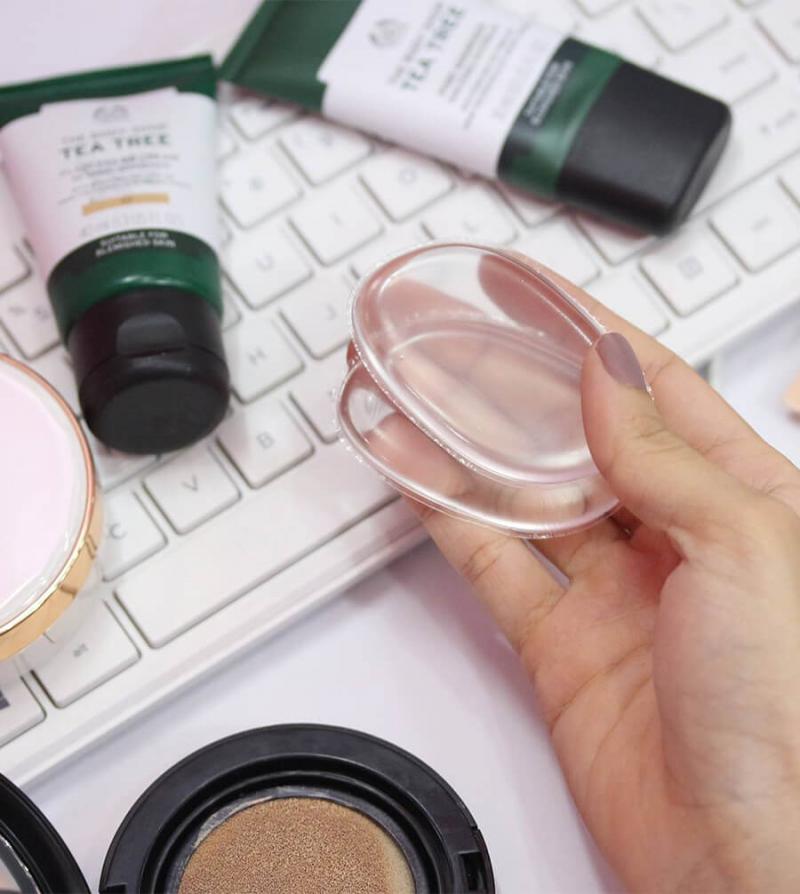 Mút tán nền Silicon Vacosi Makeup House Silicone