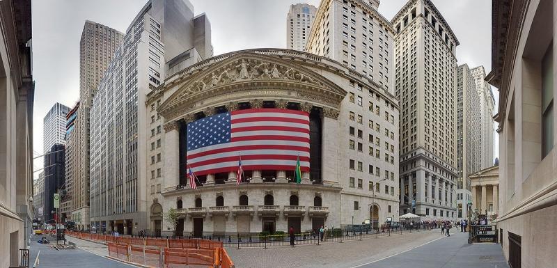 Phố Wall, Hoa Kỳ chính là trung tâm tài chính thế giới.