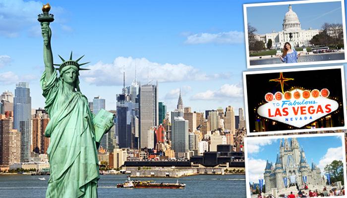 Mỗi năm Mỹ thu hút 69,8 triệu lượt khách du lịch
