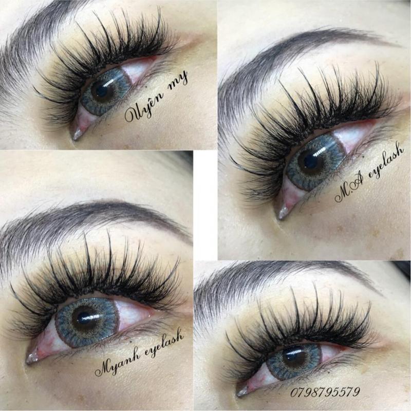 Uyên My eyelash