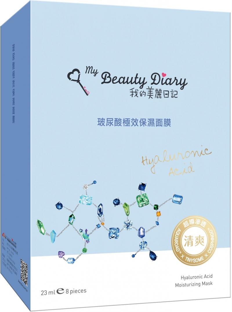 Bao bì mask My Beauty Diary được thiết kế vô cùng đáng yêu