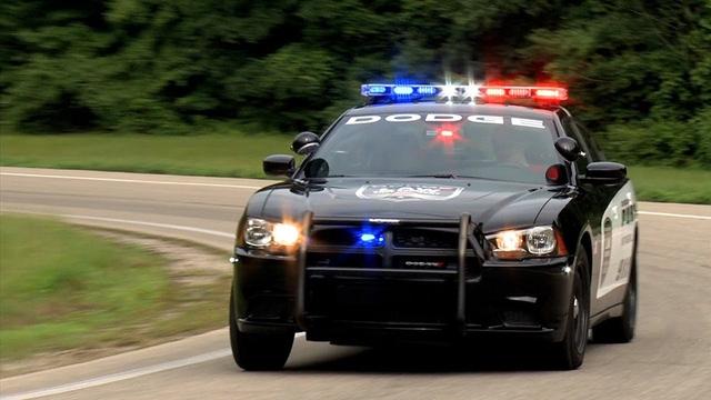 Dodge Charger của cảnh sát Mỹ