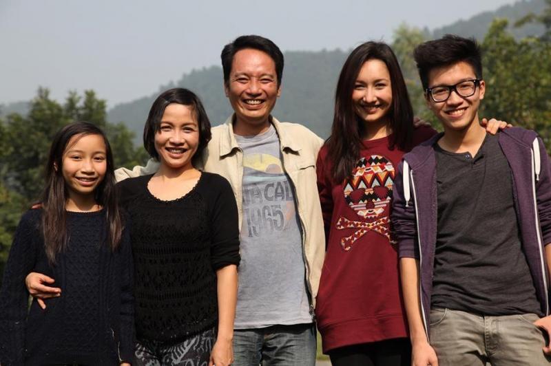 Gia đình ca sỹ Mỹ Linh và nhạc sĩ Anh Quân