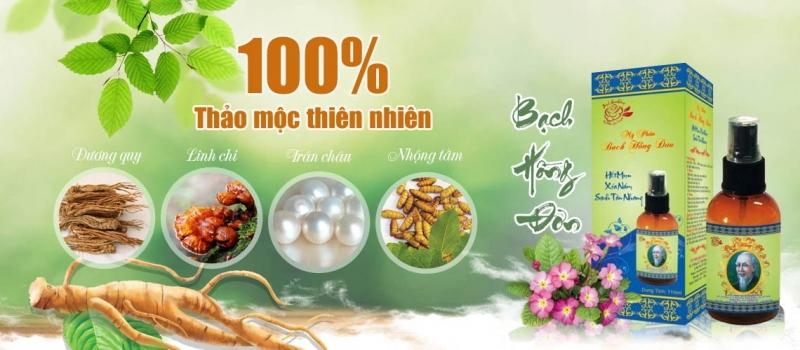 100% Bạch Hồng Đơn làm từ thảo mộc thiên nhiên