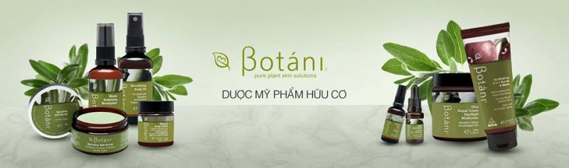 Mỹ phẩm hữu cơ Botani