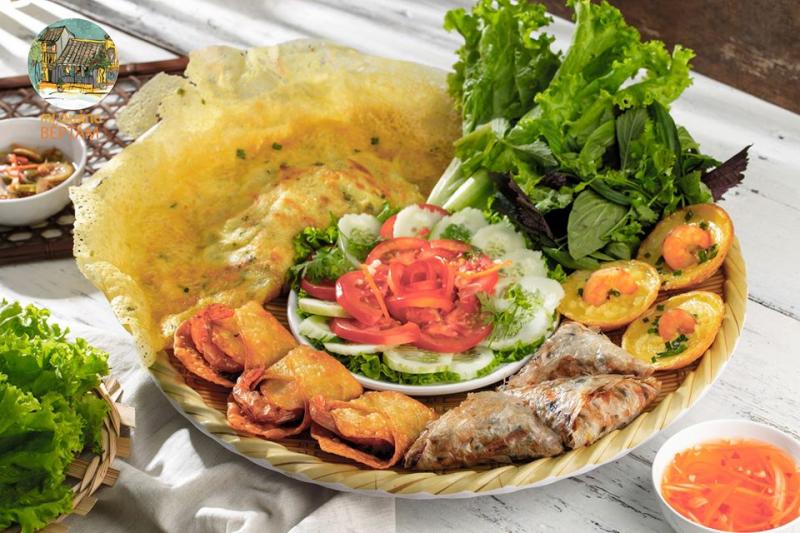 Các món bánh của miền Trung cũng có mặt ở Bếp Tâm