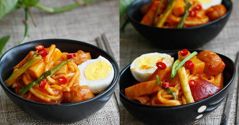 Tokbokki instant noodles