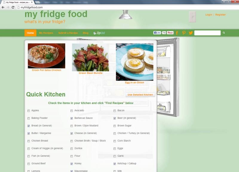 Hình ảnh giao diện của Website