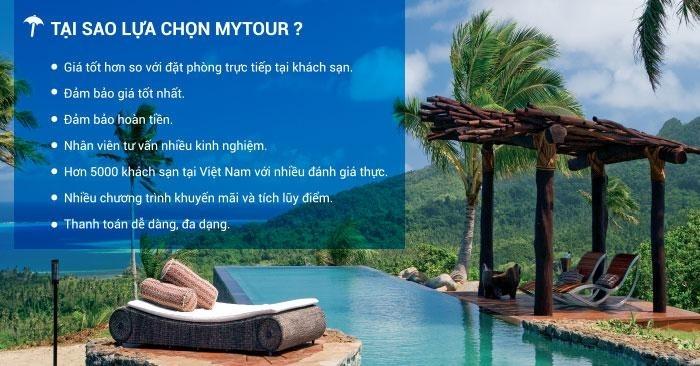 Có rất nhiều lợi ích khi khách hàng lựa chọn Mytour