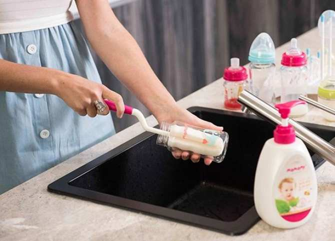 Nước Rửa Bình Sữa & Rau Quả Mamamy