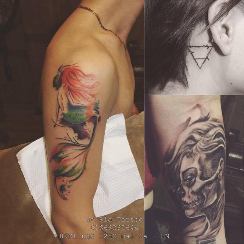 Tác phẩm của Na Bia Tattoo