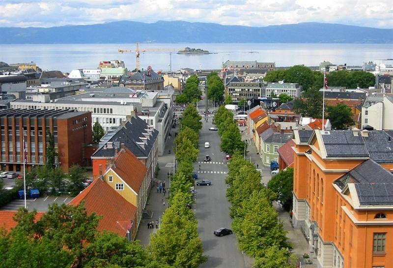 Tỉ lệ tội phạm thấp mang lại cho đường phố Na Uy vẻ yên bình.