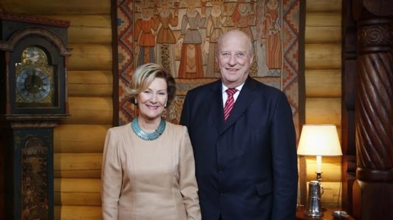 Đức vua Harald V và Hoàng hậu Sonja