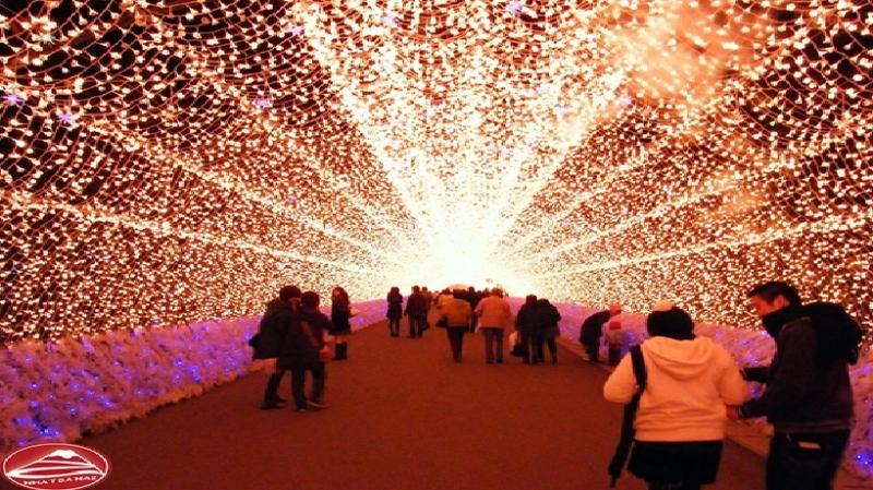 Lễ hội ánh sáng ở Nagoya