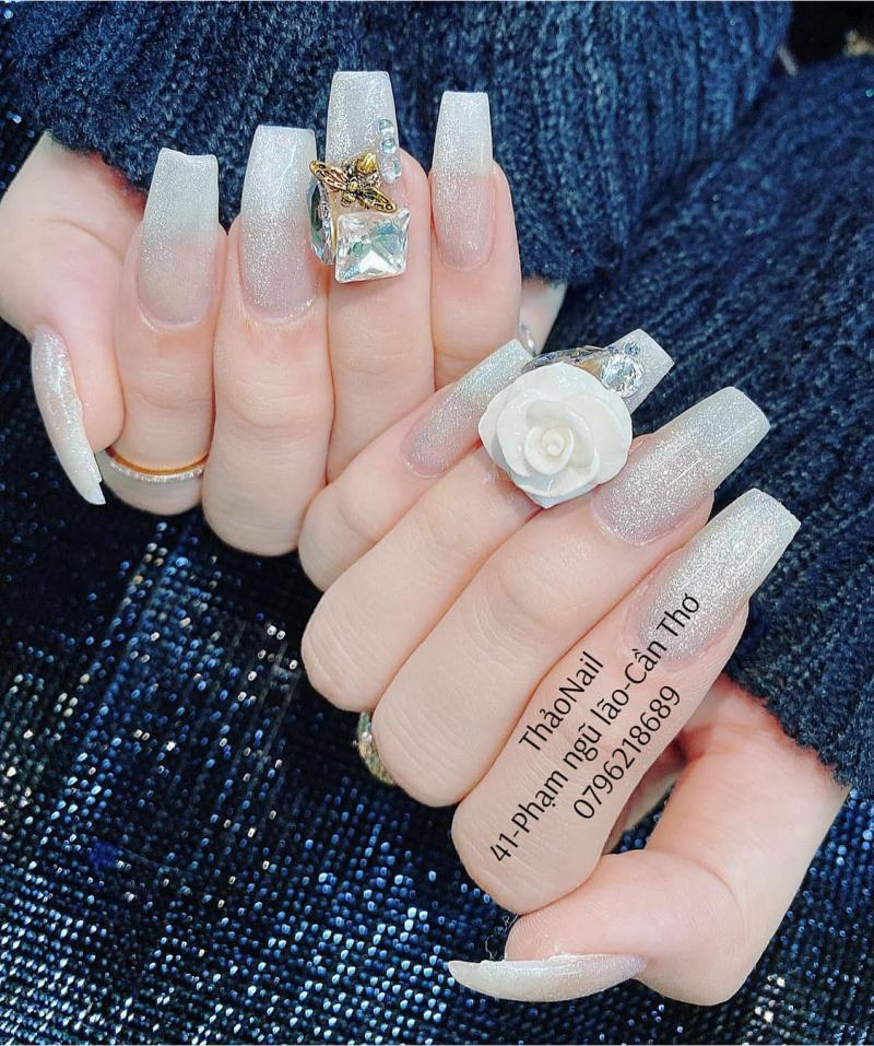 Mẫu nail ấn tượng được thiết kế bởi Nail Thảo