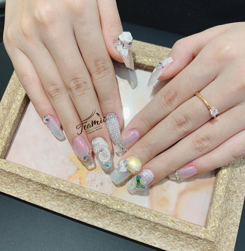 Nails Đậu Trà My