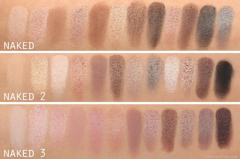 Bảng phấn mắt Naked Palette - Urban Decay