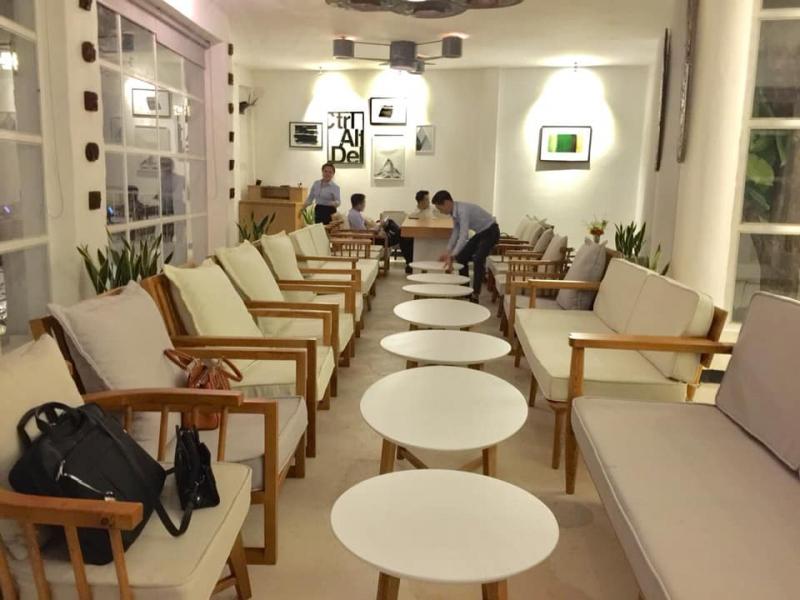 Phòng riêng tại Nam Cafe dành tổ chức các buổi tiệc