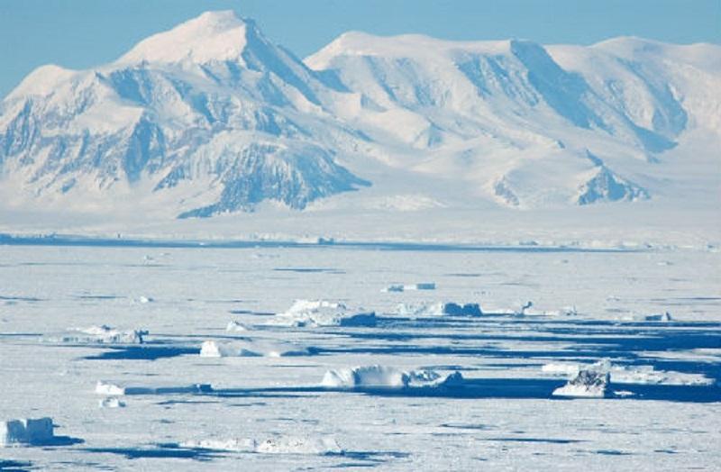 Châu Nam Cực được xem là sa mạc lớn nhất thế giới.