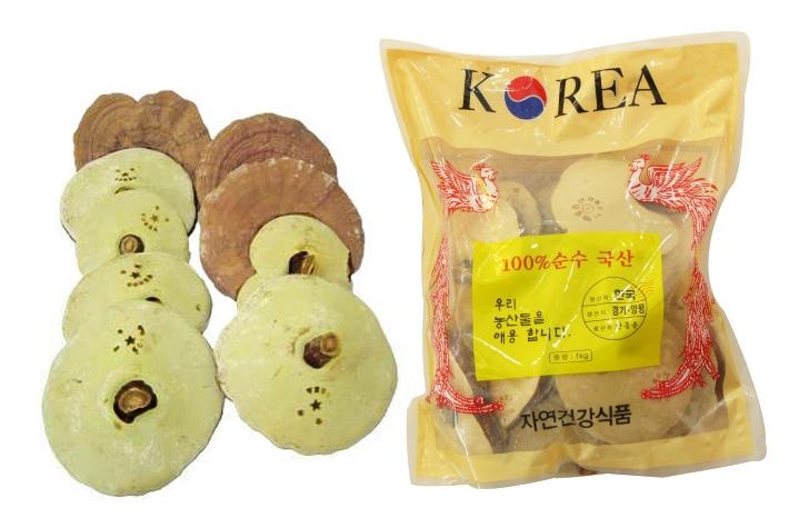 Nấm linh chi tươi Hàn Quốc