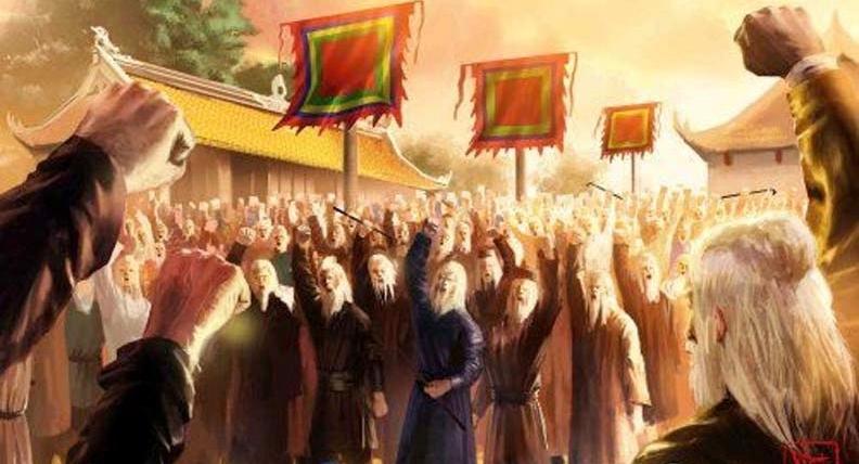 Hình ảnh Hội thề Lũng Nhai Lê Lợi cùng các tướng lĩnh