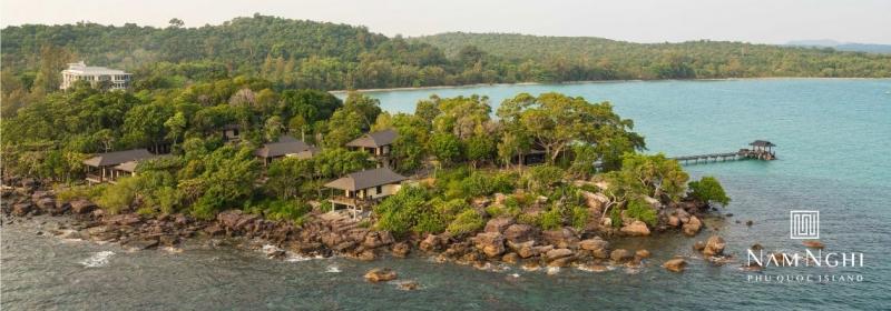 góc nhìn từ trên cao của Nam Nghi Resort – Phú Quốc