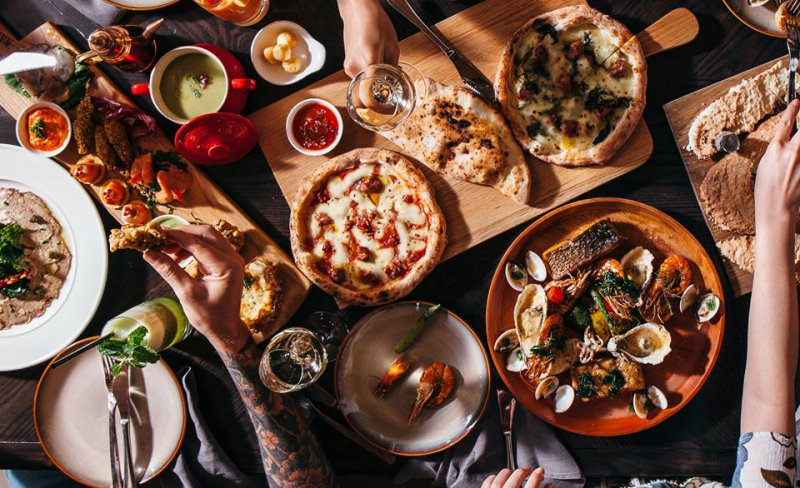 Tọa lạc tại số 74/6 Hai Bà Trưng, phường Bến Nghé, quận 1, 'NAMO Italian Restaurant sở hữu không gian 3 tầng hiện đại, với thiết kế nhẹ nhàng và tinh tế.