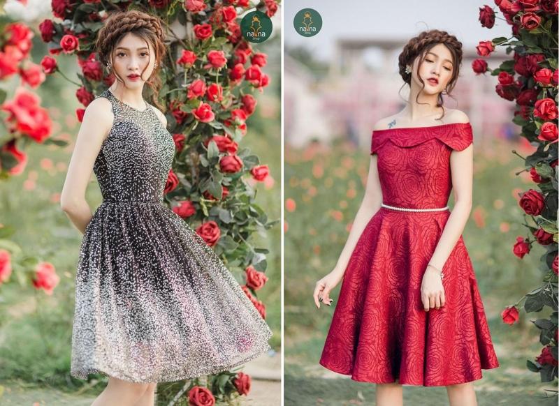 Những chiếc váy với thiết kế thanh lịch, đầy dịu dàng nữ tính tại NANA Shop