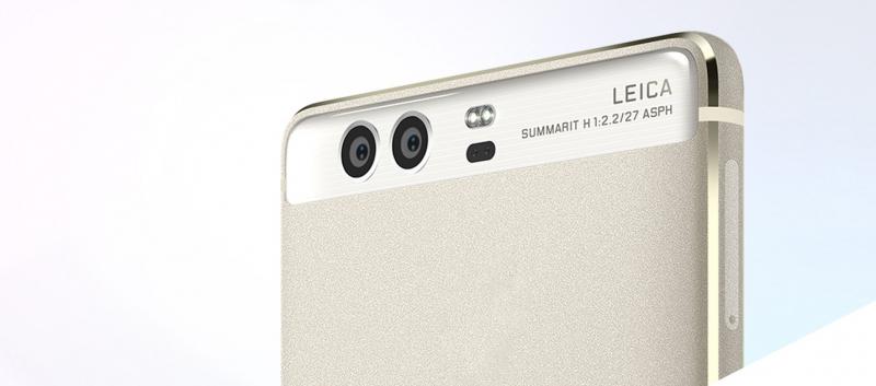 Camera kép được nâng cấp trên Huawei P10