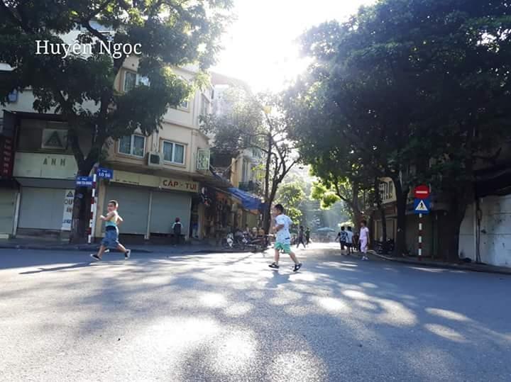 Hà Nội ngày nắng nóng (nguồn internet)