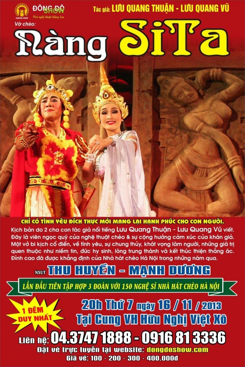 Poster giới thiệu của vở kịch