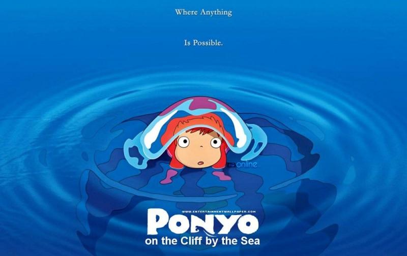 Ponyo On The Cliff By The Sea - Nàng tiên cá phương Đông