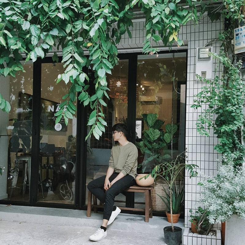 Nấp Sài Gòn là địa chỉ sống ảo lý tưởng cho team yêu màu xanh lá