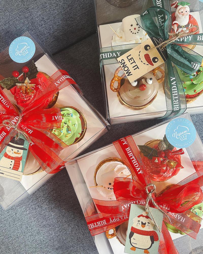 Set bánh lạnh mừng Giáng sinh của Napom