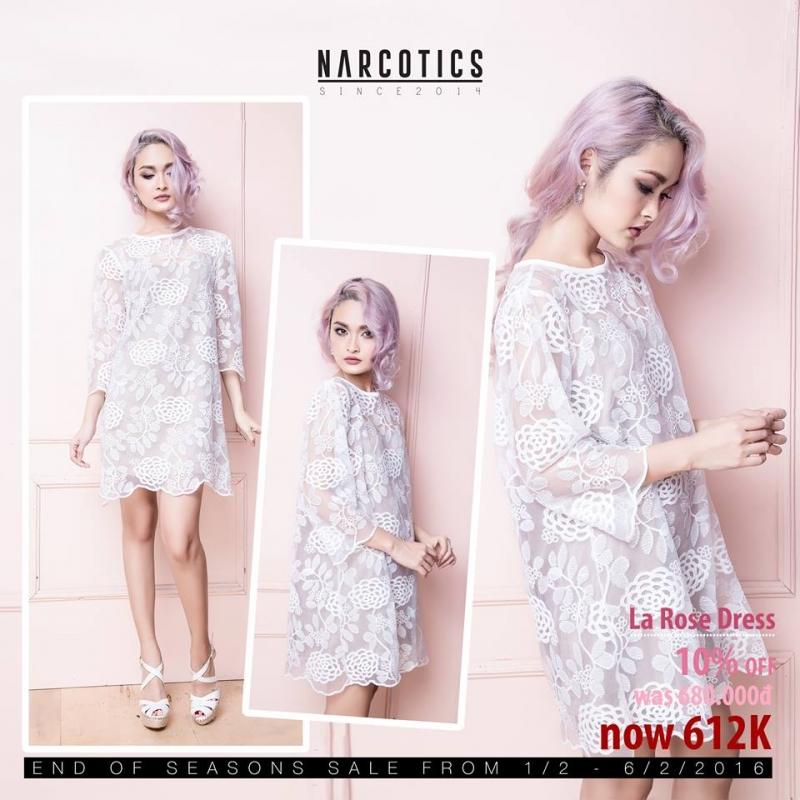 Thiết kế nữ tính của Narcotics Fashion