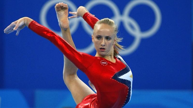 Nastia Liukin là một trong những vận động viên Mỹ tiêu biểu nhất năm 2008