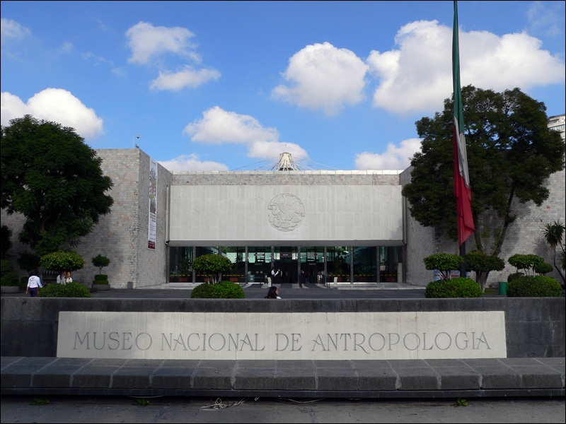 Bảo tàng nhân chủng học Quốc gia Mexico (Thành phố Mexico, Mexico)
