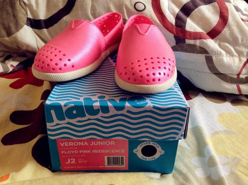 Giày trẻ em thương hiệu Native rất được ưa chuộng