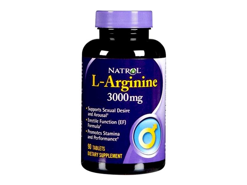 Natrol L-Arginine 3000 mg là một trong những sản phẩm bổ gan thận tốt nhất hiện nay