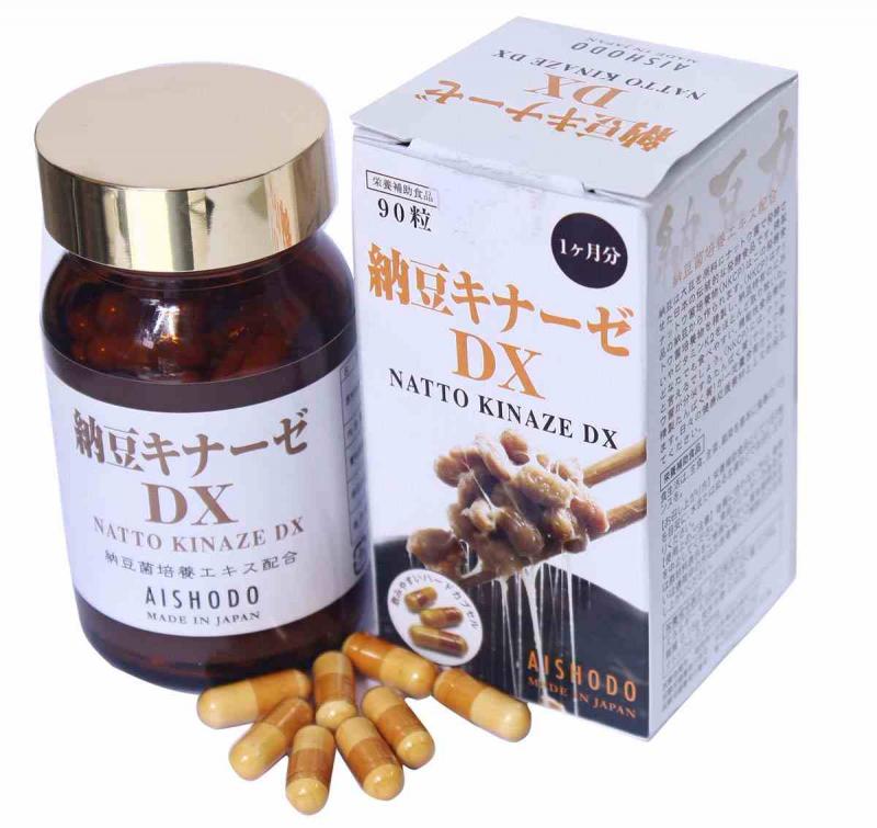 Natto Kinaze DX – Phòng Bệnh Đột Quỵ: