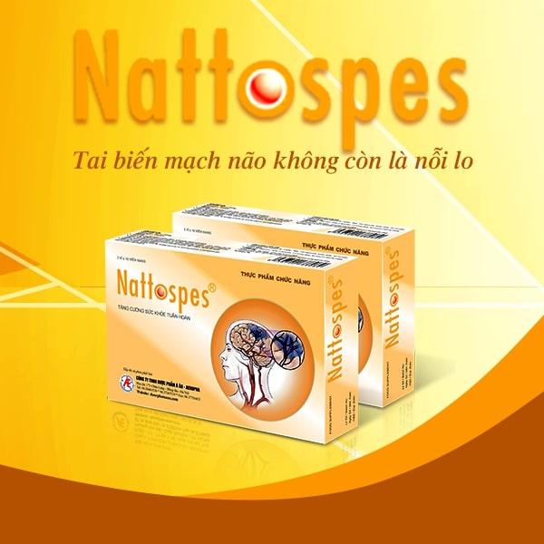 Nattospes - Giải pháp hỗ trợ điều trị tai biến mạch máu não