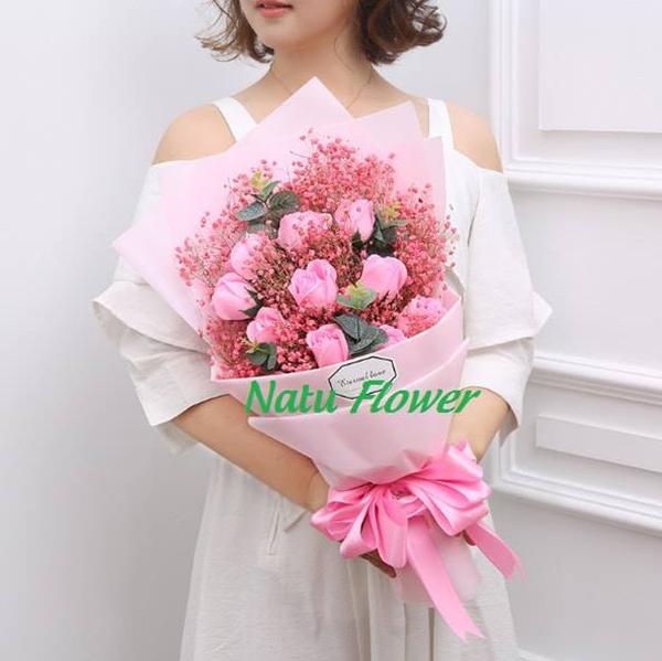 NATU Flower - Hoa Sáp Thơm Hàn Quốc
